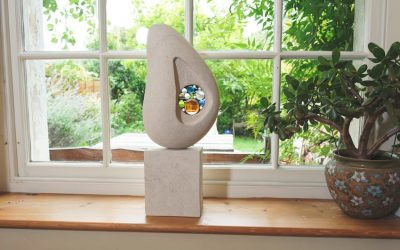 Garden Sculpture V Headstone